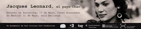 banner estrenos Jacques Leonard, el payo Chac